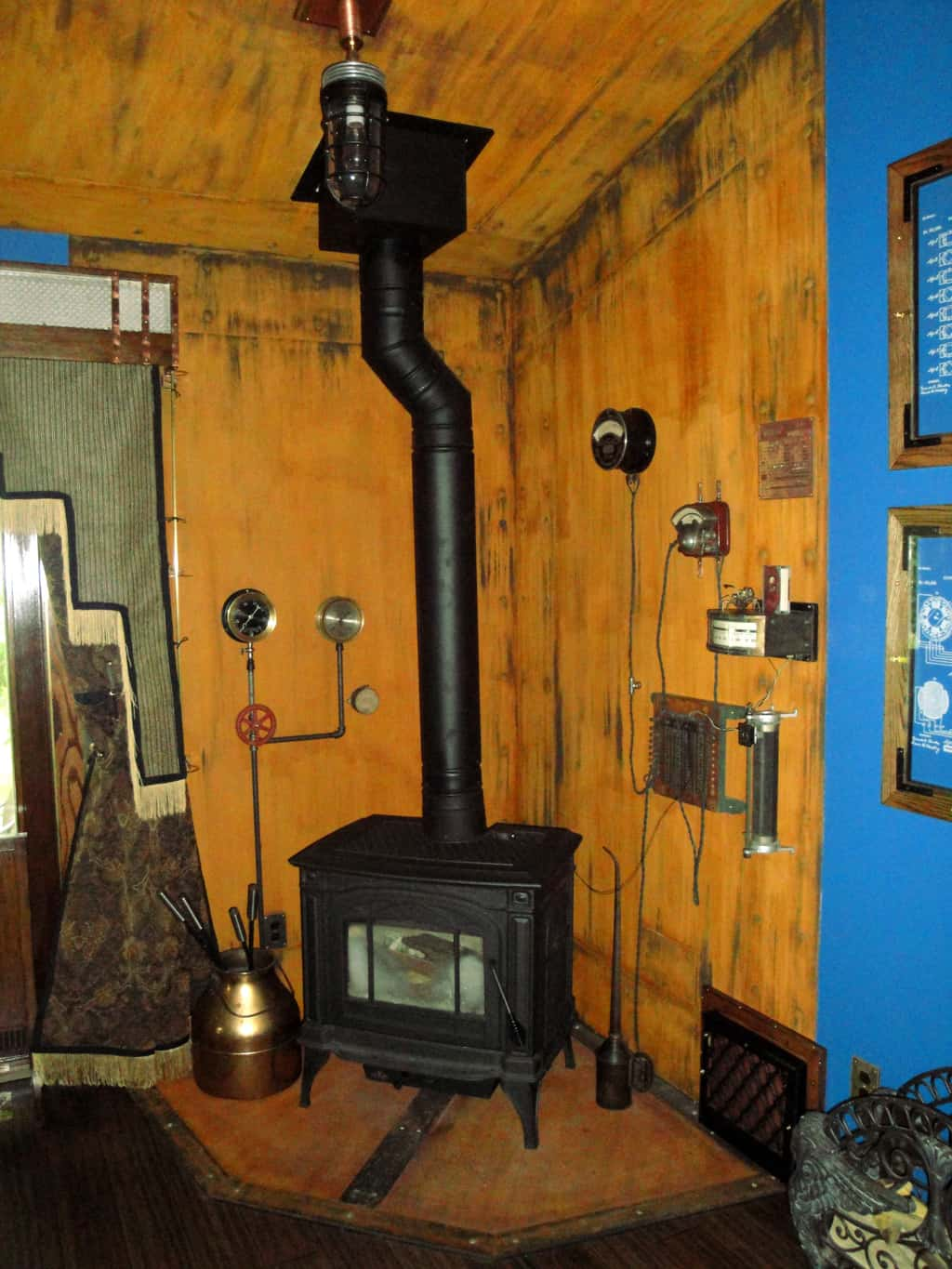 2 Steampunk Fireplace 2