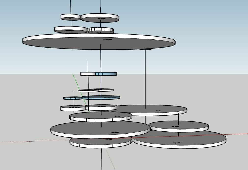 Orrery Gear Layout 5