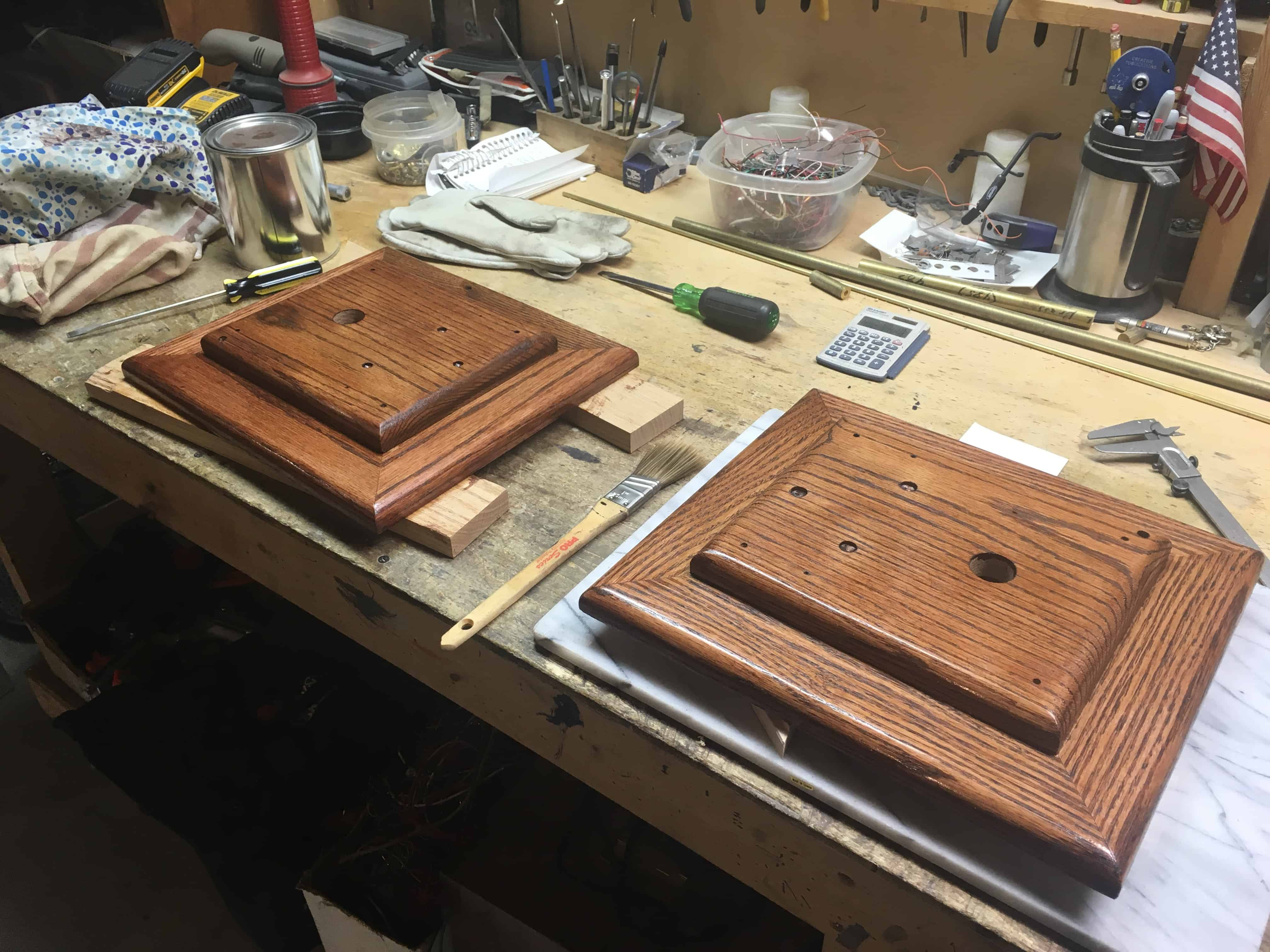 Two Orrery Bases