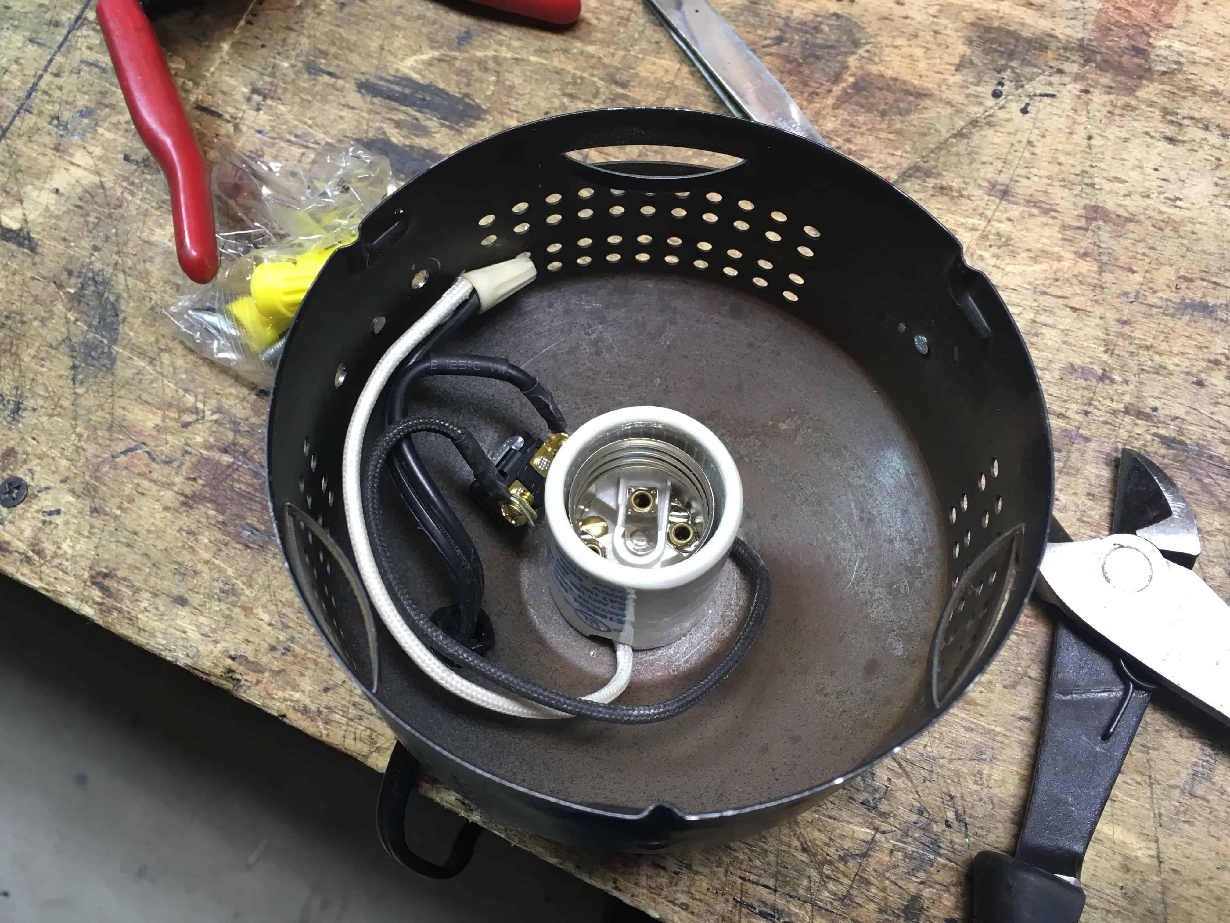 Lamp Base wiring 1