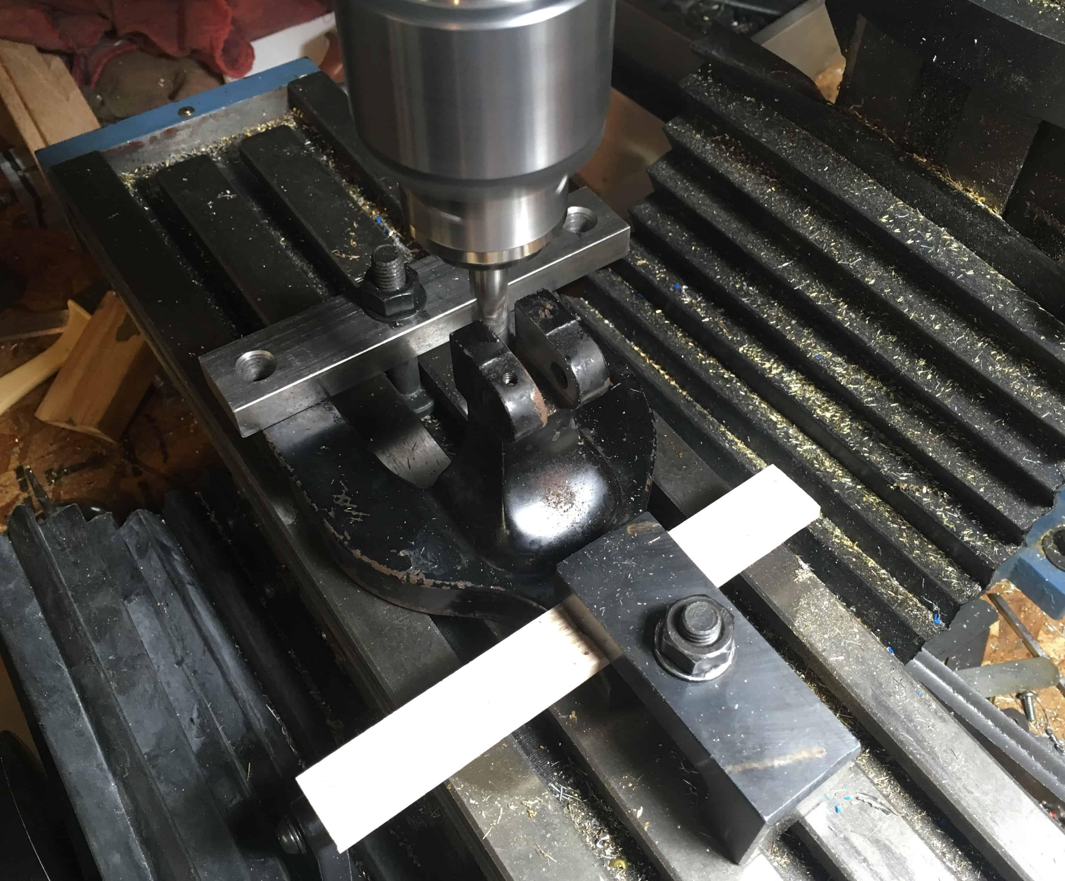 Machining replacement base