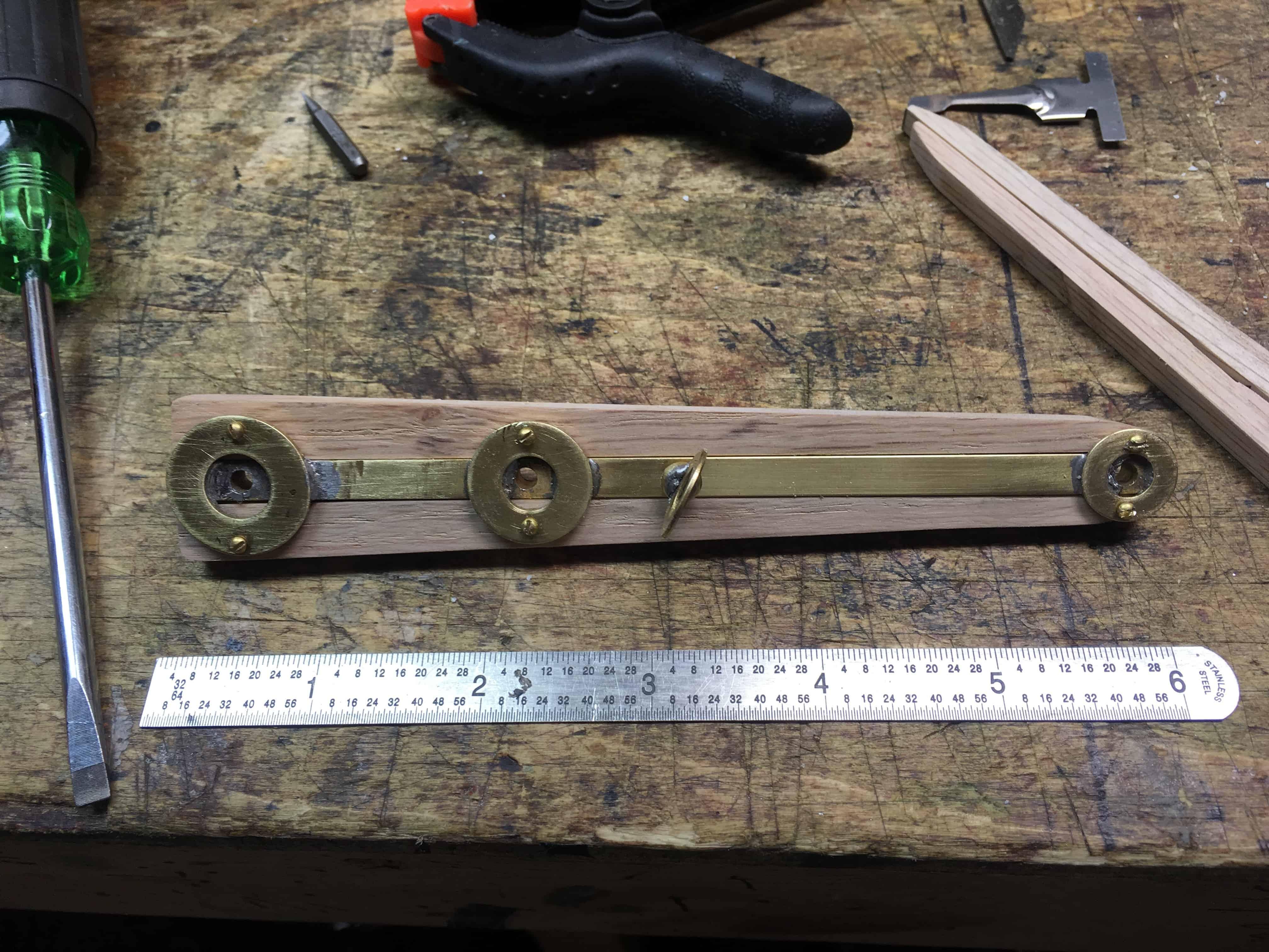 79 Oak strips mounted 1