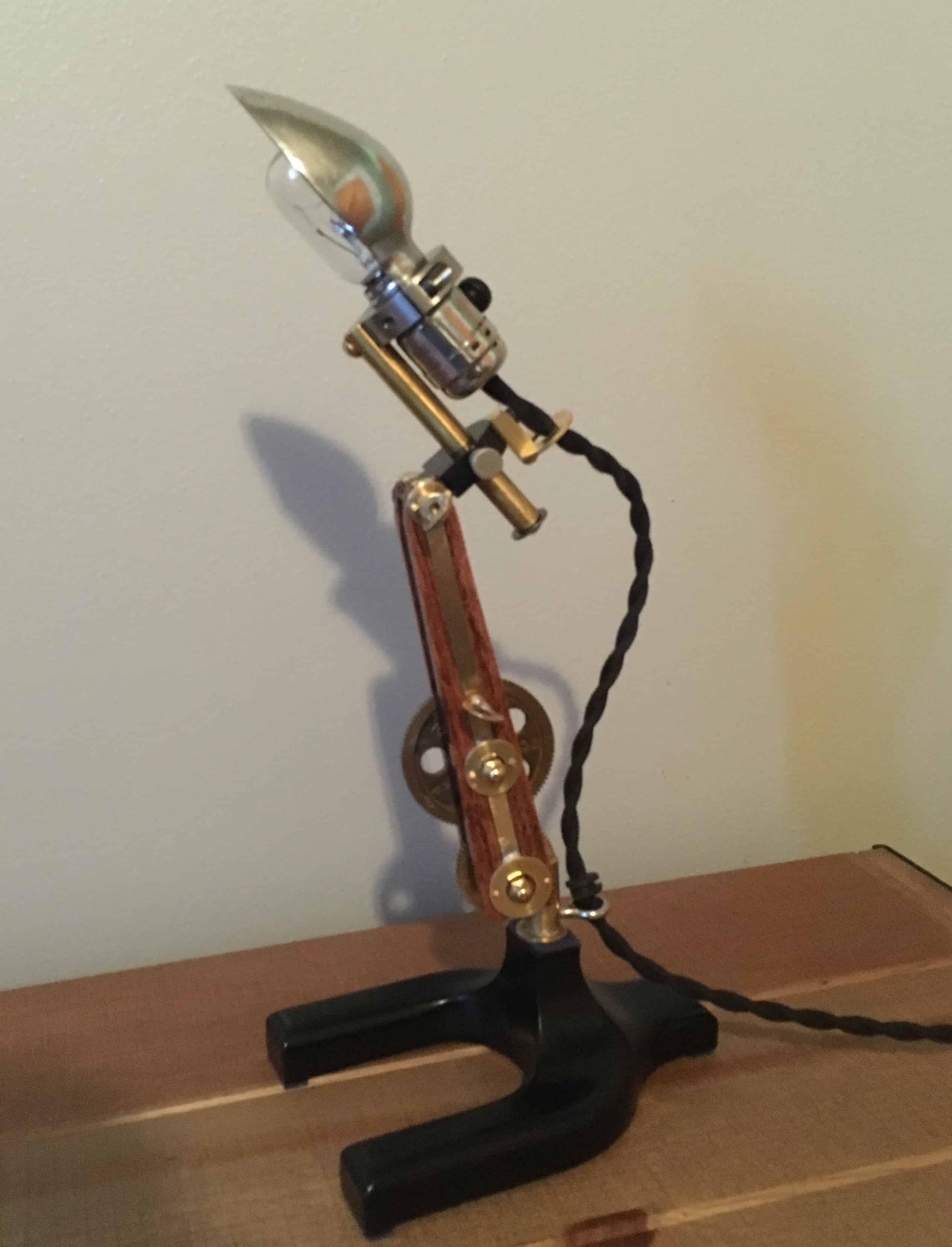 95 Steampunk lamp 3