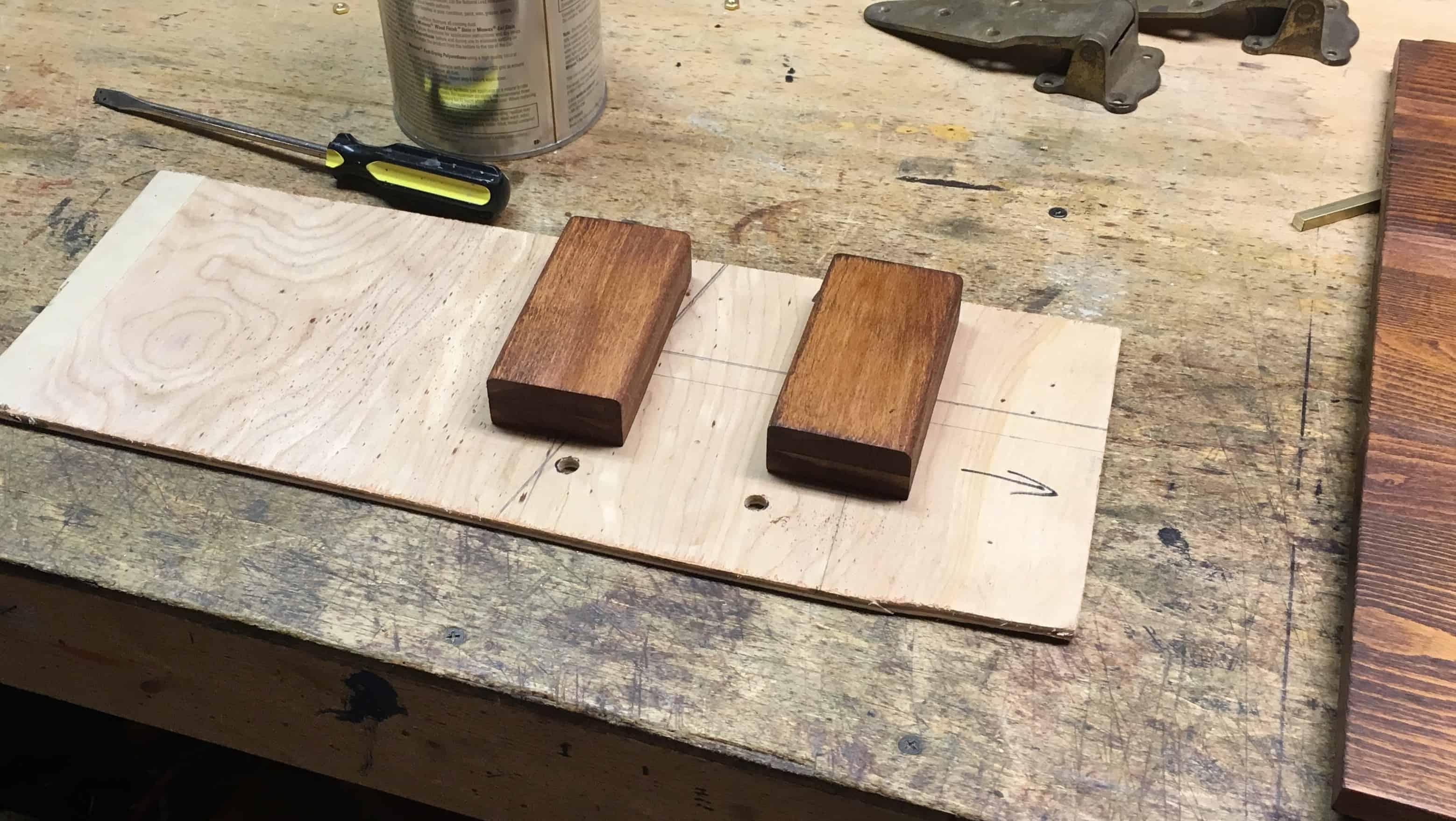 14 hinge blocks