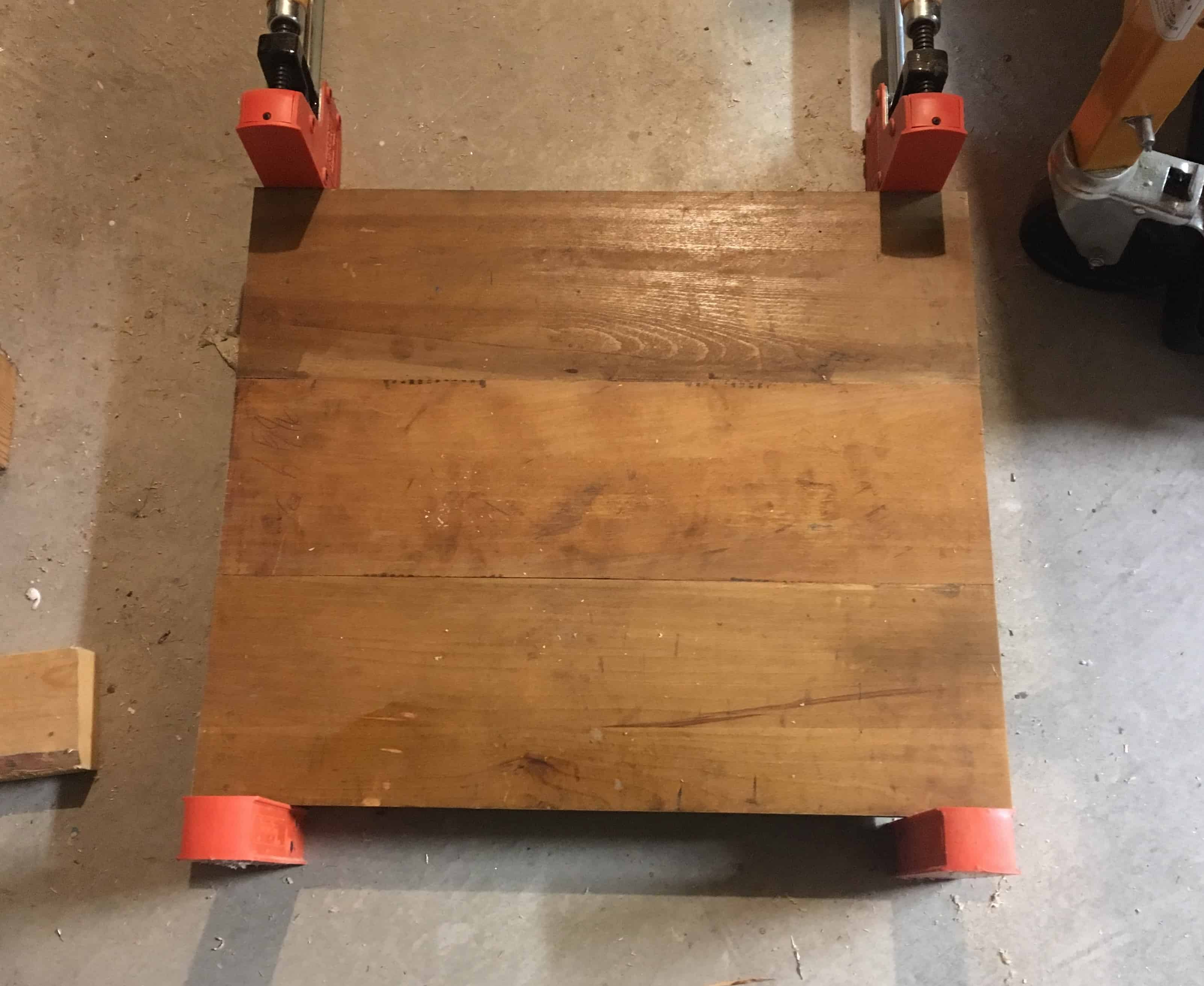 3-Back glued together